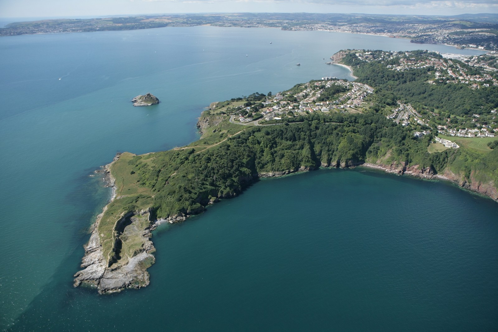 Hope Nose, great for dog walks in torquay