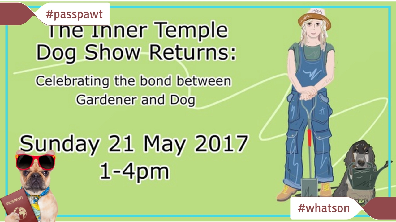 What's On In Dogland – News – The Inner Temple Dog Show