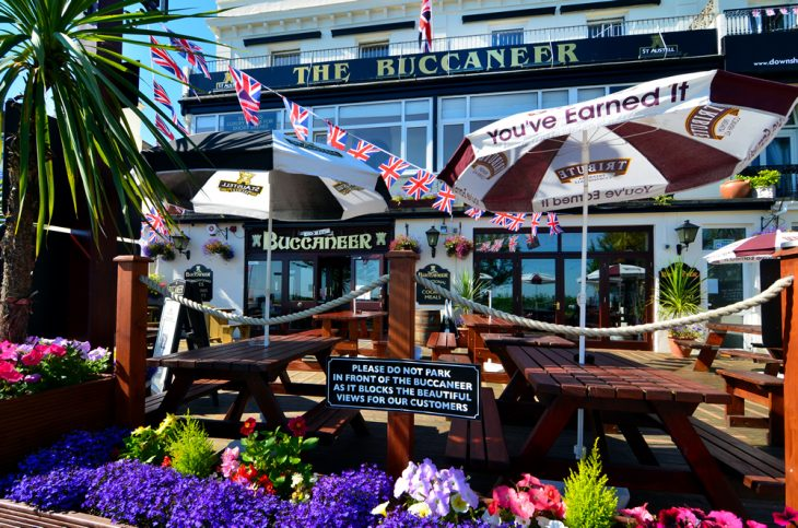 dog friendly babbacombe buccaneer inn